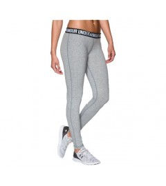 under armour - Legging Favorite Wordmark pour femme - TRUE GRAY HEATHER