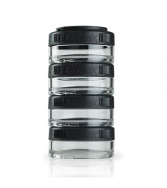 Blender Bottle - GoStack 4x40ml - Noir