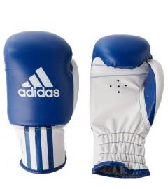 Adidas - Gants de Boxe pour enfant - Bleu/Blanc