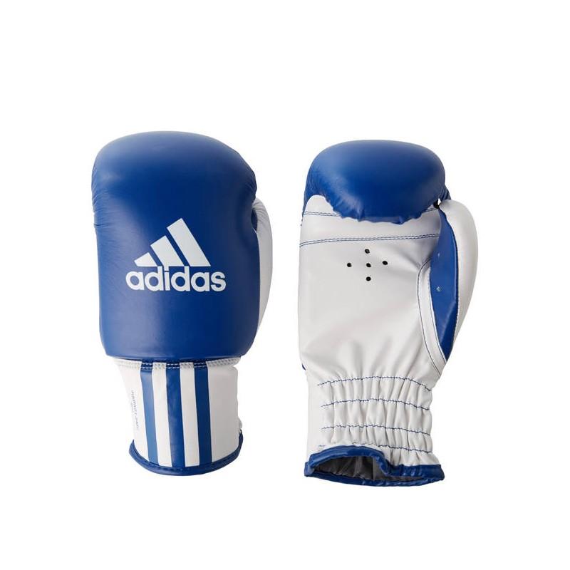 adidas gants de boxe pour enfant bleu blanc. Black Bedroom Furniture Sets. Home Design Ideas