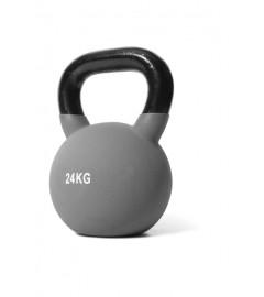 Jordan Fitness - Kettlebell Néoprène - 24kg Grise