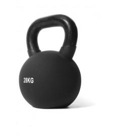 Jordan Fitness - Kettlebell Néoprène - 28kg Noire