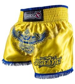 "Hyabusa - Short de Muay Thai ""Garuda"" Jaune"