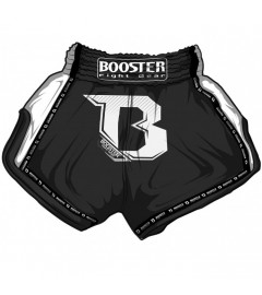 "BOOSTER - Short de Muay Thai ""Pro 1"" Black"