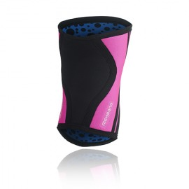 REHBAND -  Genouillères 5mm Black/Pink