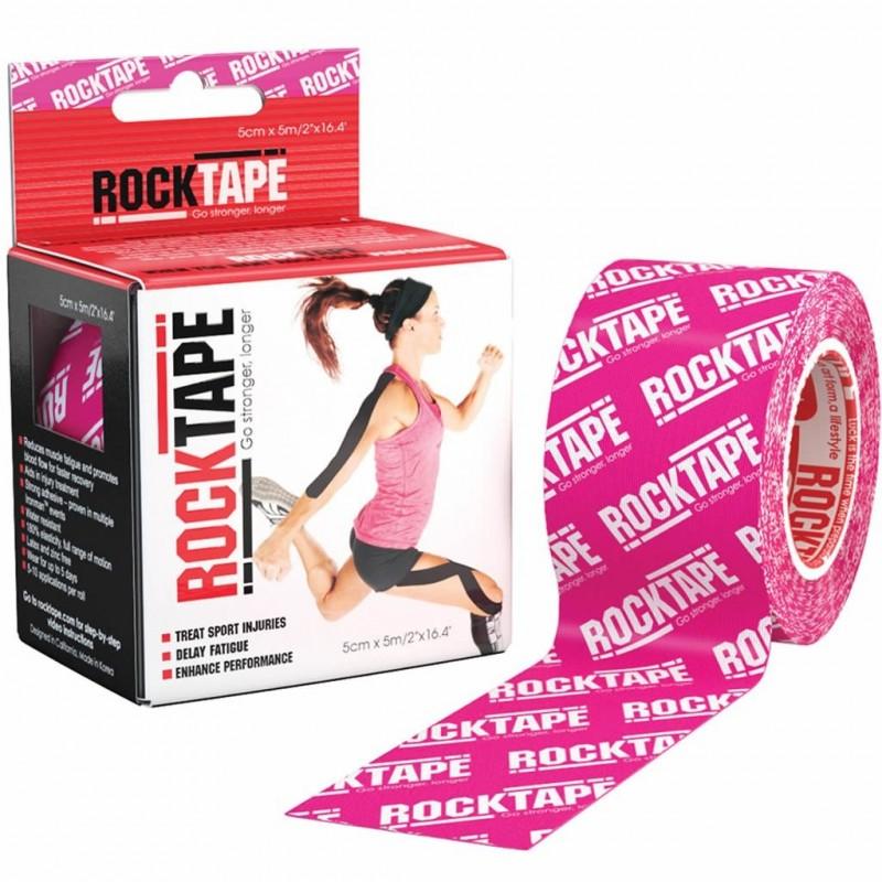 RockTape - Bande Tape Kinésiologie - Pink Rock