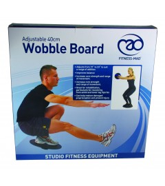 Verstellbares Wobble Board / Wackelbrett von Fitness-MAD