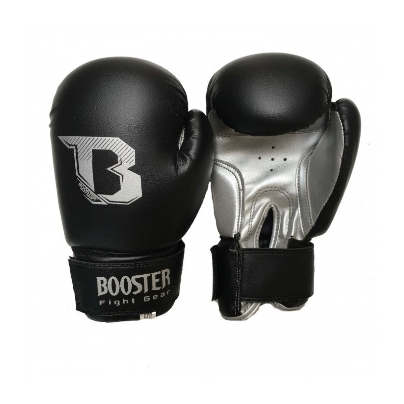 gants de boxe pour enfants duo silver booster. Black Bedroom Furniture Sets. Home Design Ideas