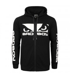 Sweat à capuche G.P.D Bad Boy Noir