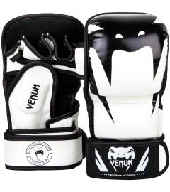 Gants de MMA Impact Sparring Blanc Venum