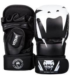 Gants de MMA Impact Sparring Noir/Blanc Venum