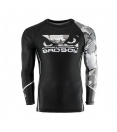 Rashguard Soldier Noir/Gris Bad boy