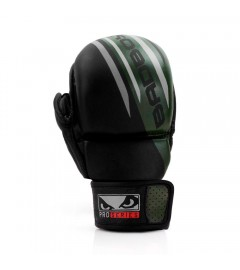 Gants de MMA Pro Series Advanced Noir/Vert Bad Boy