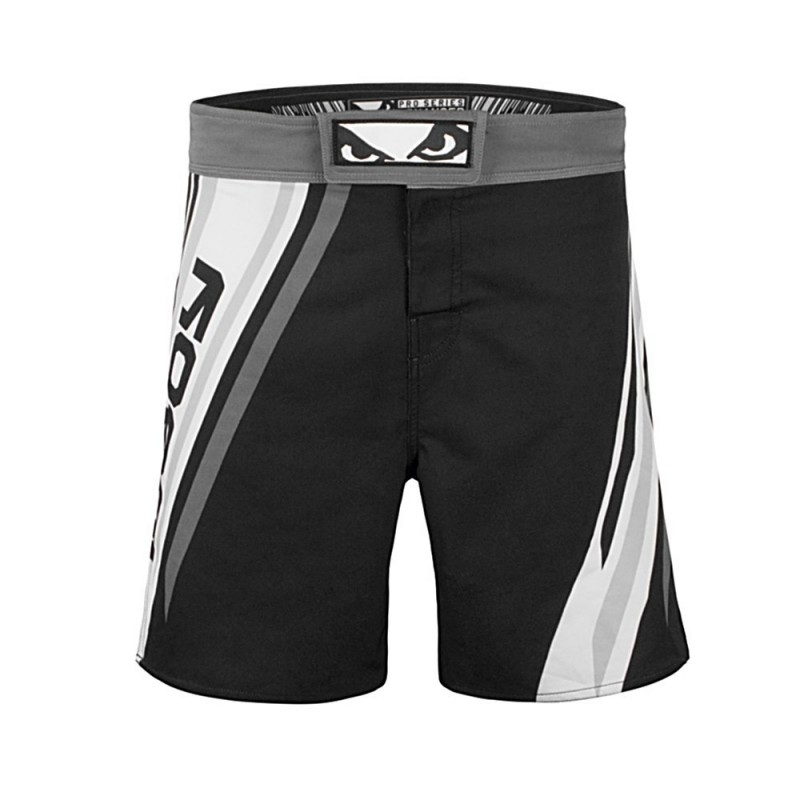 Short de MMA Pro Series Advanced Noir/Blanc Bad Boy