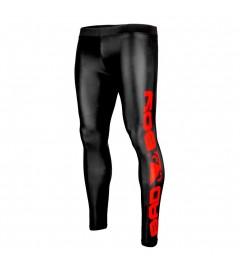 Leggings de compression Noir/Rouge Bad Boy