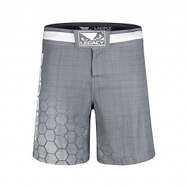 Short de MMA Legacy Prime Gris Bad Boy
