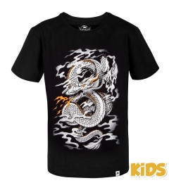 T-Shirt Dragon's Flight Noir/Blanc Kids Venum