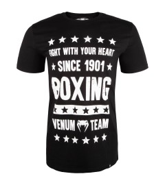T-Shirt Boxing Origins Noir Venum