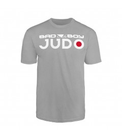 T-Shirt Judo Gris pour enfants Bad Boy