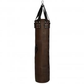 Sac de frappe Vintage en cuir 130cm Brun/Noir Venum