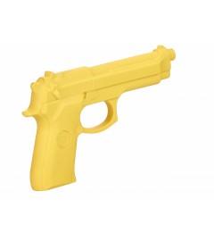 Pistolet en caoutchouc Jaune