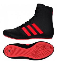 Chaussure de boxe KO Legend 16.2 Noir/Rouge Adidas