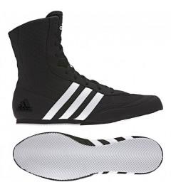 "Chaussure de boxe anglaise ""Box Hog"" Noir/blanc Adidas"