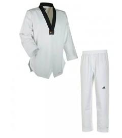 "Dobok Taekwondo ""Adi Flex"" Blanc/Noir Adidas"