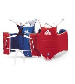 Plastron Taekwondo Rouge/Bleu Adidas