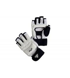 Gants de Taekwondo WTF Blanc/Noir Adidas