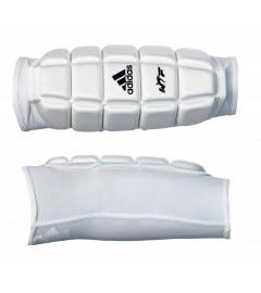 "Protège-tibias Taekwondo""Padded"" Blanc Adidas"
