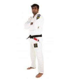 Kimono JJB Basic 2.0 Blanc avec ceinture Kingz