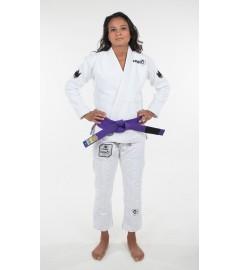 Kimono JJB Nano Blanc pour femme Kingz