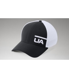 Casquette UA Train Spacer Mesh Noir