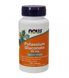 Potassium Gluconate 99mg Nowfood