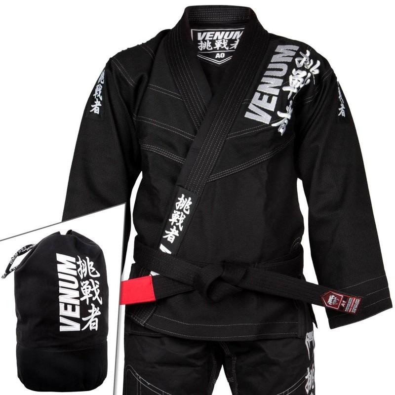 Kimono Challenger 4.0 BJJ GI Noir + sac Venum