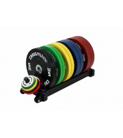 Bumper plate rack (black)