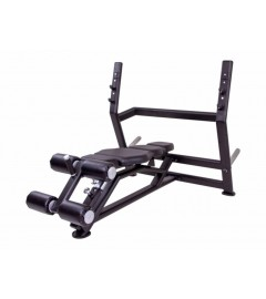 Olympic decline bench (black)
