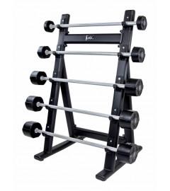 Barbell rack for 5 pcs (black)