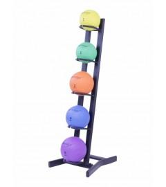 Medicineball rack Noir (Pour 5 medicine balls)