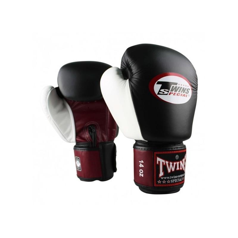 Gants de boxe Rouge/Noir/Blanc Twins