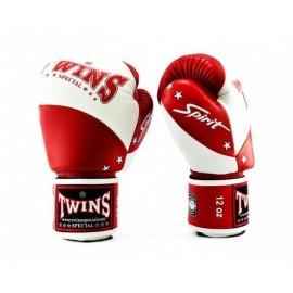 Gants de boxe Blanc/Rouge Twins