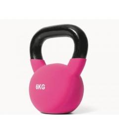 Jordan Fitness - Kettlebell Néoprène - 6kg Rose
