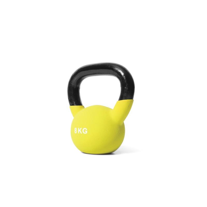 Jordan Fitness - Kettlebell Néoprène - 8kg Jaune
