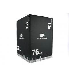 Soft Plyometric Box - 3 en 1