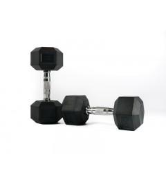 Haltère Hexagonale musculation - Hex Dumbbell 2.5kg à 30kg (unité)