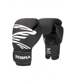 Gants de boxe Noir/Blanc (PU) Zebra