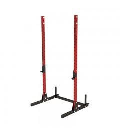 Squat stand rack Rot / Schwarz NOBU ATHLETICS