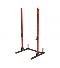 Squat stand rack Rouge / Noir Nobu Athletics