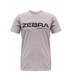 T-Shirt Gris Clair Zebra Athletics